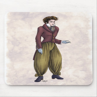 Regency Fashion - Gentleman #6 - Mousepad