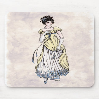 Regency Fashion - Lady 1 - Mousepad