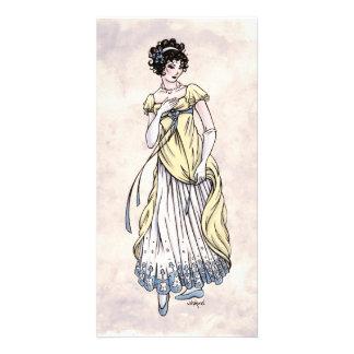 Regency Fashion - Lady #1 - Photocard w/Envelope Customized Photo Card