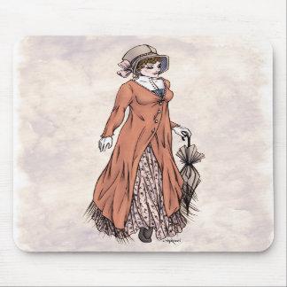 Regency Fashion - Lady #2 - Mousepad