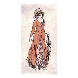 Regency Fashion - Lady #2 - Photocard w/Envelope Photo Cards