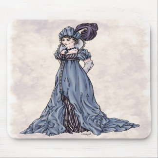 Regency Fashion - Lady 3 - Mousepad
