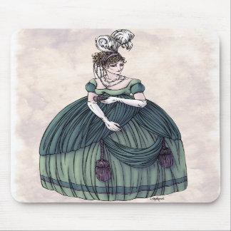 Regency Fashion - Lady 4 - Mousepad