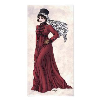 Regency Fashion - Lady #5 - Photocard w/Envelope Customized Photo Card
