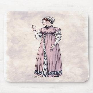 Regency Fashion - Lady #6 - Mousepad