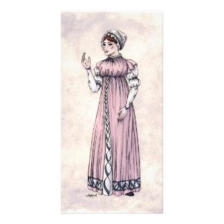 Regency Fashion - Lady #6 - Photocard w/Envelope Photo Card