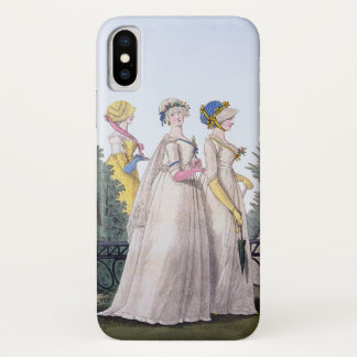 Regency Fashion Plate Jane Austen iPhone X Case