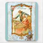 Regency French style Romantic Musical Couple Mousemat