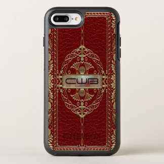 Regencythe  II Old Book Cool Victorian Monogram OtterBox Symmetry iPhone 8 Plus/7 Plus Case