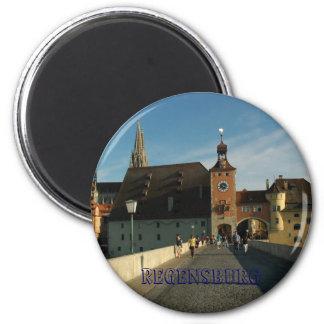 Regensburg 6 Cm Round Magnet