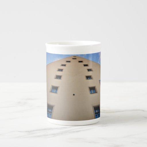 Regensburg architecture porcelain mug