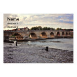 Regensburg bridge pack of chubby business cards