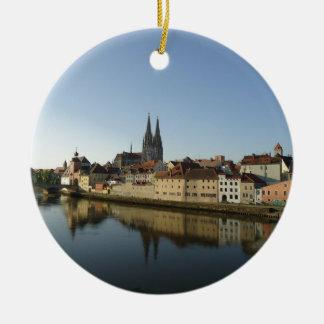 Regensburg, Germany Christmas Ornament