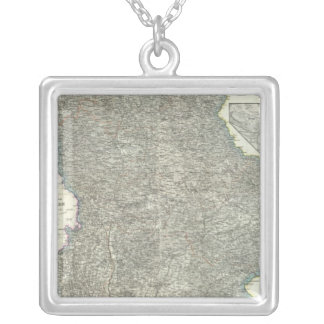 Regensburg Region of Germany Silver Plated Necklace