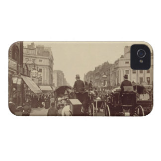 Regent Circus, London, c.1880 (sepia photo) iPhone 4 Case-Mate Cases