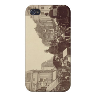 Regent Circus, London, c.1880 (sepia photo) iPhone 4 Cover