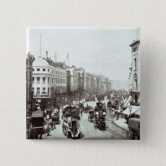 Regent Street, London c.1900 15 Cm Square Badge