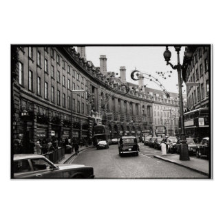 Regent Street, London Poster