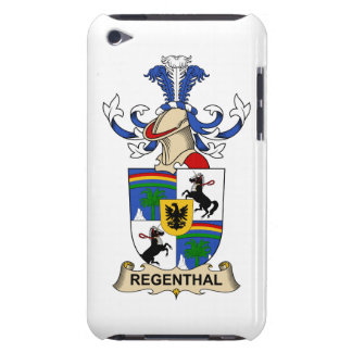 Regenthal Family Crest iPod Touch Case