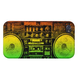 reggae boombox iPhone 4 cases