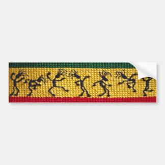 reggae dance bumper sticker