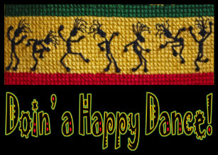 Reggae cards invitations zazzle reggae dance happy birthday card bookmarktalkfo Image collections