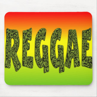 Reggae design mouse mat