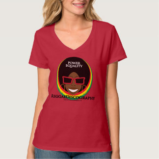 Reggae Discography Black and Beautiful T-Shirt