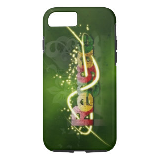 reggae graffiti swirl art iPhone 7 case