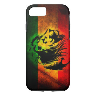 reggae lion graffiti flag iPhone 7 case