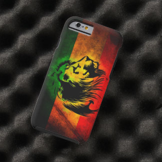 reggae lion graffiti flag tough iPhone 6 case