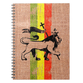 Reggae lion notebook