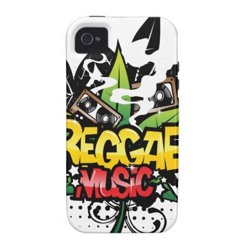 Reggae Music Vibe iPhone 4 Cases
