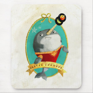Reggae Narwhal Mouse Pad