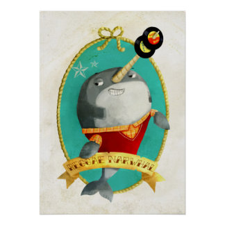 Reggae Narwhal Posters