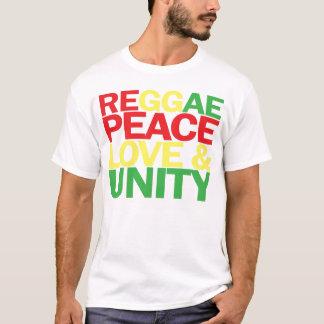 Reggae. Peace, Love & Unity T-Shirt