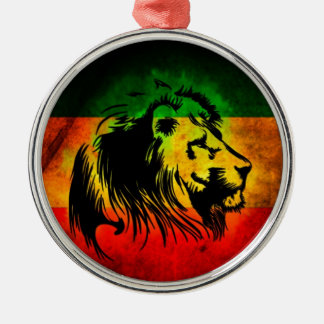 Reggae Rasta Lion Christmas Ornament