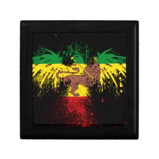 Reggae Rasta Lion Gift Box