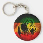 Reggae Rasta Lion Key Chain