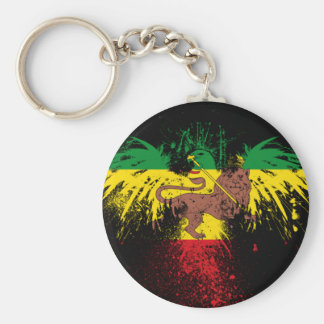 Reggae Rasta Lion Key Ring