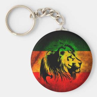 Reggae Rasta Lion Key Ring
