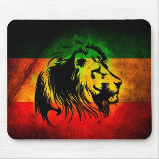Reggae Rasta Lion Mouse Mat