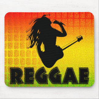 Reggae Rasta Rastafarian Jamaican Mousepad Mousepads