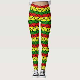 Reggae root Rasta hippie - Yoga put-went Leggings