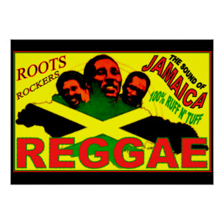 "REGGAE ROOTS ROCKERS 28"" x 20"" Poster"