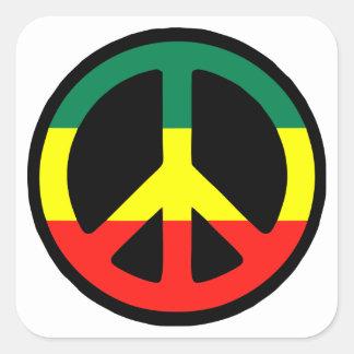 Reggae Square Sticker