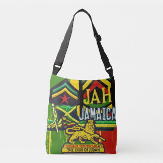 Reggae Steppers Rasta Bag Cross Over Body Design