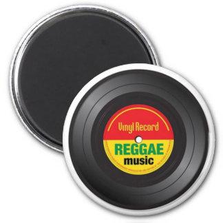 Reggae Vinyl 45 Magnet