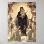 Regina Angelorum by Bouguereau, Victorian Angels Posters