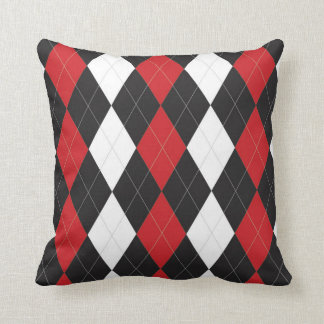 Regina Argyle Throw Pillow